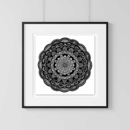 Home Decor Wall Art Collection – Kaleidescope Print
