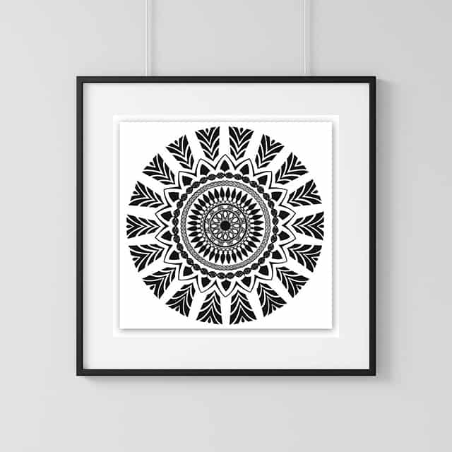 Home Decor Wall Art Collection – Aztec Print