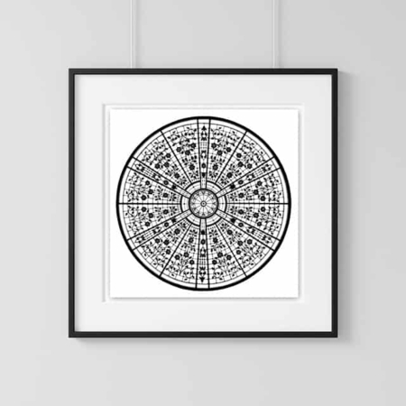 Home Decor Wall Art Collection –Looking Glass Print