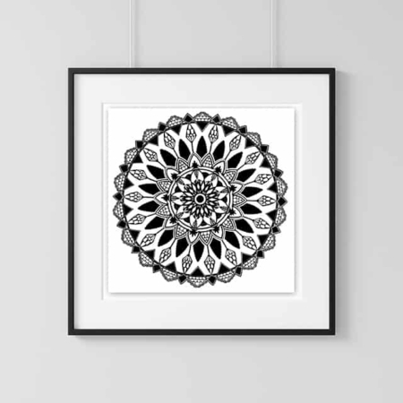 Home Decor Wall Art Collection – Mandala Print