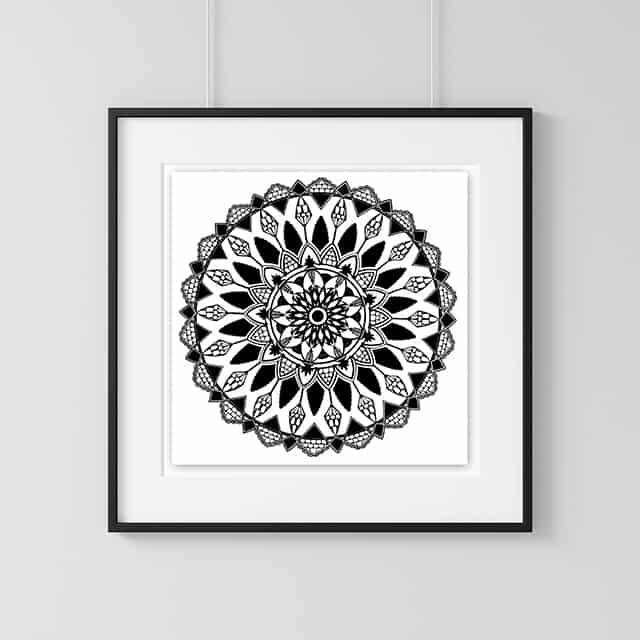 Home Decor Wall Art Collection – Mandala Print