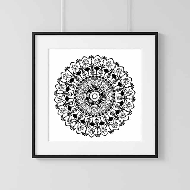 Home Decor Wall Art Collection – Urn Print