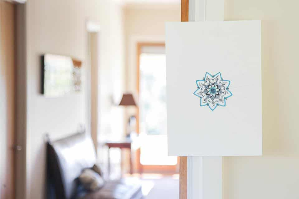Cathy gray ink work and roaming zen yoga retreats