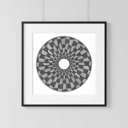 Home Decor Wall Art Collection – Mosaic Print