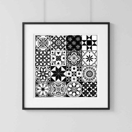 Home Decor Wall Art Collection – Tile2 Print