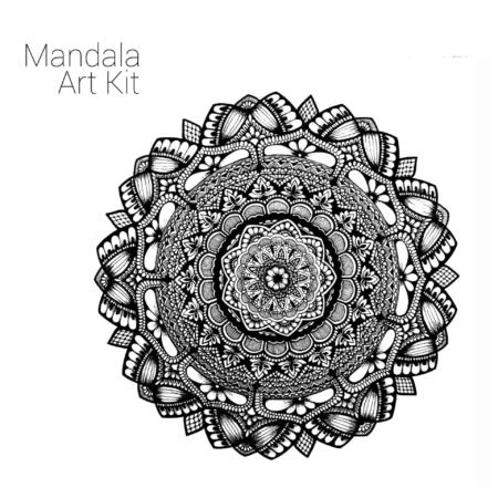 Mandala Art Kit