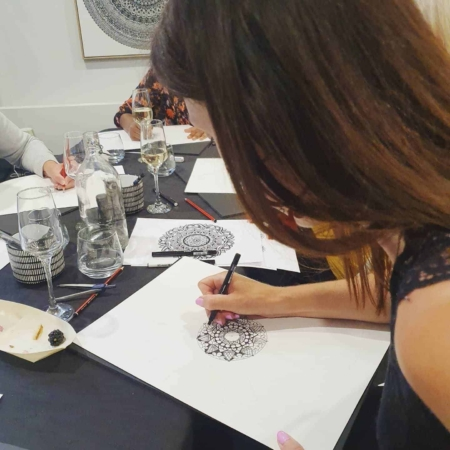 Cathy - Gray - Inkwork - Mandala - Workshop - Adelaide - Hills
