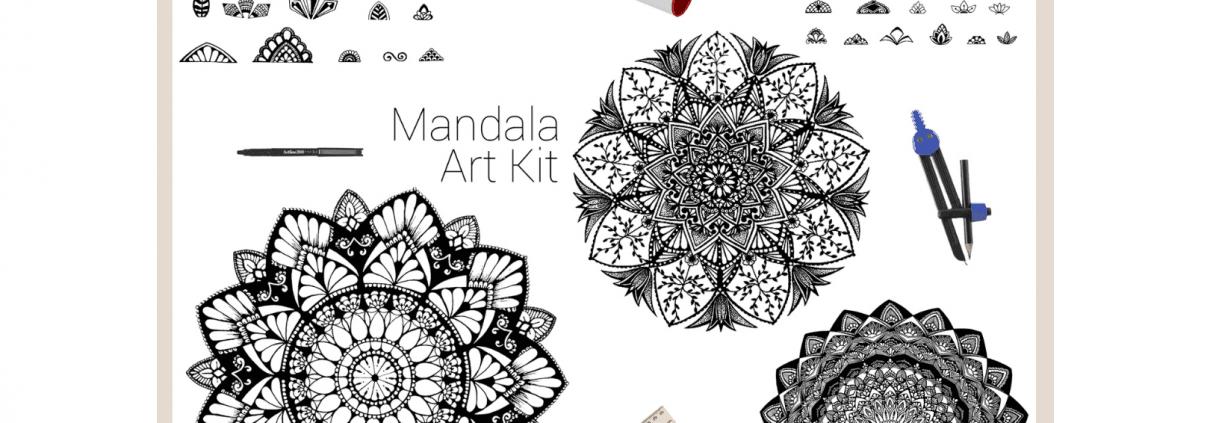 Cathy - Gray - Inkwork - Mandala - gift - kit - Adelaide - Hills