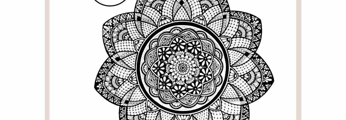 Cathy - Gray - Inkwork - Mandala - gift - downloads - Adelaide - Hills