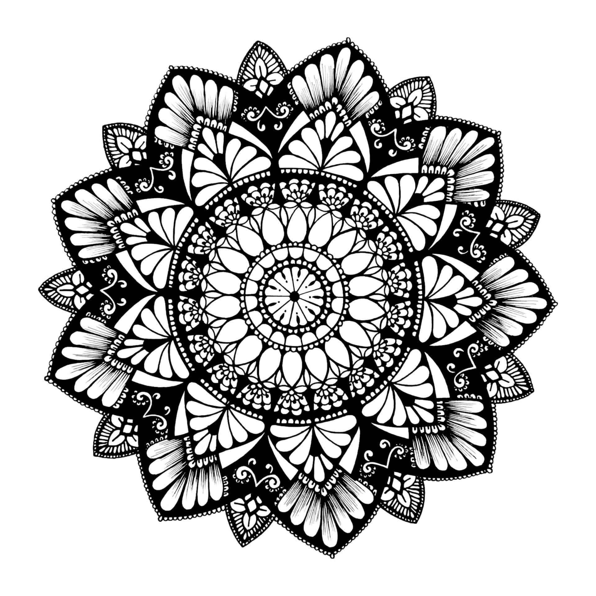 Mandala Hopeful